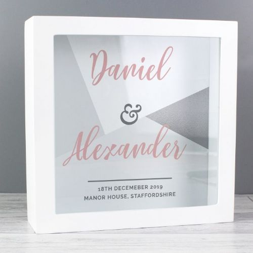 Personalised Wedding & Occasion Fund and Keepsake Box